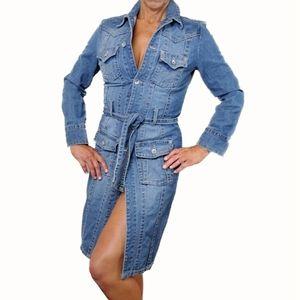 Rue21 Med-Heavy Denim Dress Small